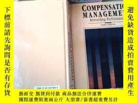 二手書博民逛書店COMPENSATION罕見MANAGEMENTY253683