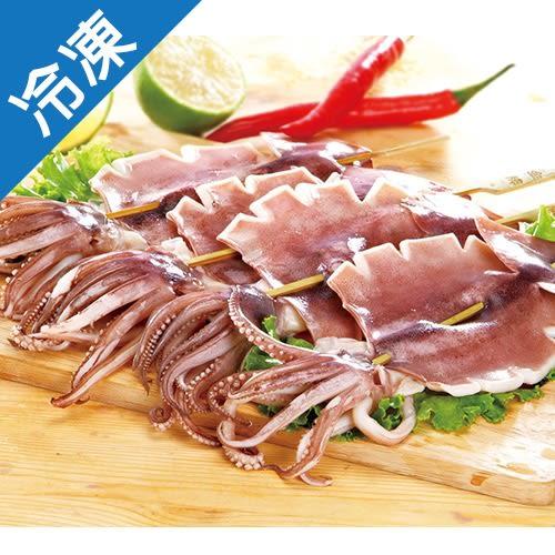 【Q彈扎實】魷魚串110~130G/串2串/包【愛買冷凍】
