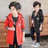 男童外套 童裝男童長袖男童風衣處理QC014 辛瑞拉