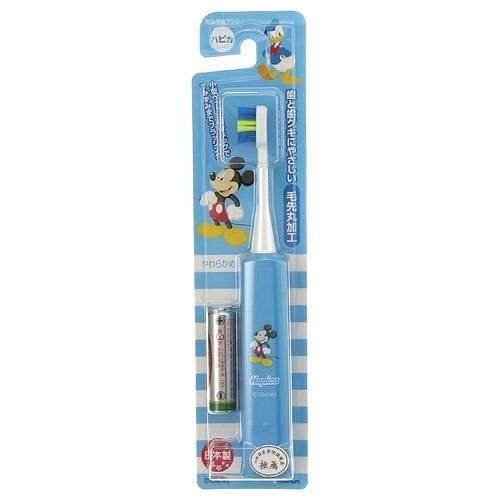 日本製 minimum 幼童專用震動式柔軟刷毛電動牙刷 米奇
