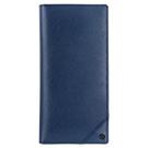◆採用十字壓紋牛皮製作,耐磨抗刮手感極佳  ◆內部10卡+4個長型夾層  ◆附原廠包裝禮盒