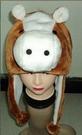 馬頭造型帽 兒童大人成人造型帽 萬聖節聖誕節  角色扮演服裝