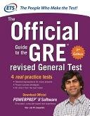 二手書博民逛書店《The Official Guide to the GRE Revised General Test》 R2Y ISBN:007179123X
