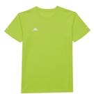 KAPPA義大利 時尚舒適型男吸濕排 圓領衫-檸檬綠 33162PWB33