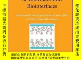 二手書博民逛書店Electrical罕見Phenomena at Interfaces and Biointerfaces: Fu