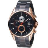 ALBA雅柏時尚潮流計時腕錶  AM3598X1 VD57-X136K 玫瑰金