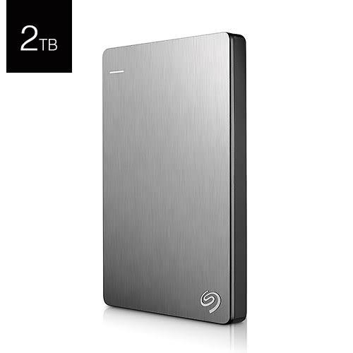 Seagate 希捷 Backup Plus Slim 2T B STDR2000301 鈦色 USB3.0 2.5吋 行動 外接硬碟