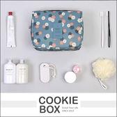 花漾 手提 懸掛 旅行 收納包 收納袋 盥洗 洗漱 置物 雜物 大容量 多功能 耐磨 耐用 *餅乾盒子*