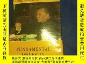 二手書博民逛書店Fundamental罕見Issues in Present-d