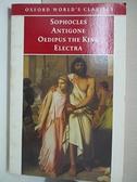 【書寶二手書T1/藝術_DAD】Antigone, Oedipus the King, Electra_Sophocles