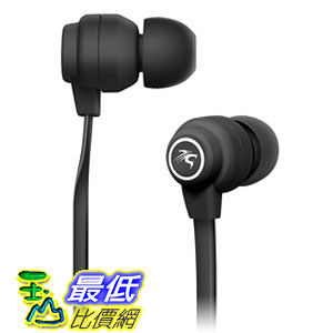 [104美國直購] Sentey In-Ear Headphones Amplitude X180 (Black) with in-line MIC LS-4101