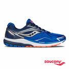 SAUCONY RIDE 9 緩衝避震專業訓練鞋-藍x灰