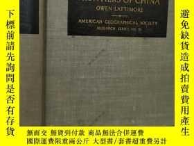 二手書博民逛書店1951年 中國的亞洲內陸邊陲Inner罕見Asian Fron
