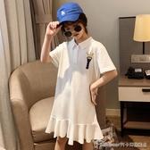 兒童節禮物女童連身裙洋裝新款春秋中大童兒童洋氣春款童裝裙子夏裝洋氣時尚 阿卡娜