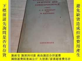 二手書博民逛書店English罕見commercial practice and correspondenceY211464