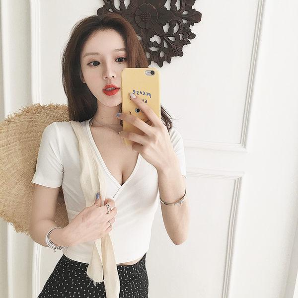 ❤Princess x Shop❤春夏新款合身性感5色短袖t恤DT805183正韓洋裝一字領露肩性感