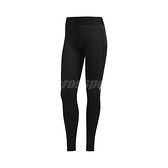 adidas 長褲 Alphaskin Long Leggings 黑 白 女款 緊身褲 運動休閒 【ACS】 FJ7167