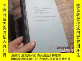 二手書博民逛書店modern罕見metallographic technique