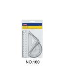 【奇奇文具】三燕COX 160 塑膠尺組/三角尺/量角器(三角板/直尺/半圓)