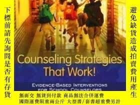 二手書博民逛書店Counseling罕見Strategies That Work! Evidence-based Interven