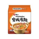 韓國 農心 安城湯麵 4入(整袋裝)【小三美日】