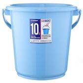 KEYWAY 舒適圓型水桶WA-101-藍(10L)【愛買】