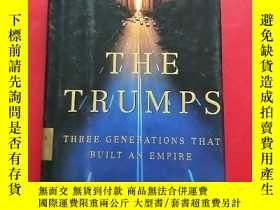 二手書博民逛書店THE罕見TRUMPS Three Generations Th