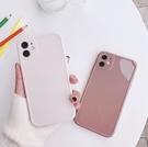 iPhone12 蘋果手機殼 預購 可掛繩 名媛氣質純色 矽膠軟殼 i11/iX/i8/i7/SE
