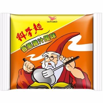 統一科學麵香蔥雞汁40g 5包/組【合迷雅好物超級商城】