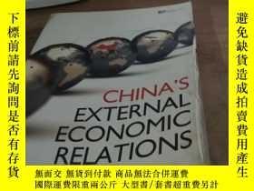二手書博民逛書店Ghina s罕見External Economic Relat