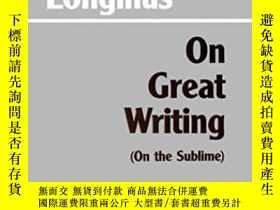 二手書博民逛書店On罕見Great Writing (on The Sublime)Y256260 Longinus Hack