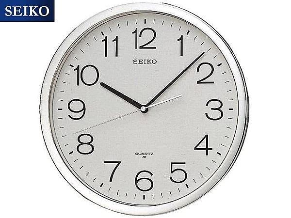 【時間光廊】SEIKO 日本 精工掛鐘 標準鍾 36.1公分 全新原廠公司貨 QXA020/QXA020S