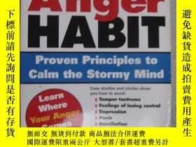 二手書博民逛書店The罕見Anger Habit;Proven Principl
