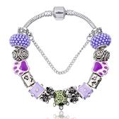 串珠手鍊-琉璃飾品繽紛熱銷生日母親節禮物女配件73bn27【時尚巴黎】