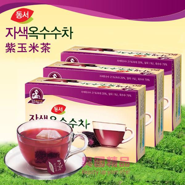 韓國 DONGSUH 紫玉米茶 60g 40包/盒 低熱量、零脂肪無負擔【特價】★beauty pie★