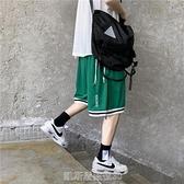 短褲男潮夏季薄款外穿中褲潮牌街頭嘻哈運動籃球褲5分休閒外穿ins 凱斯盾