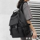 背包 書包女韓版高中原宿ulzzang大學生ins雙肩包男大容量校園工裝背包 歐歐