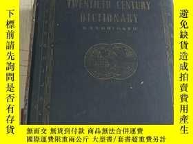二手書博民逛書店NEW罕見TWENTIETH CENTURY DICTIONAR