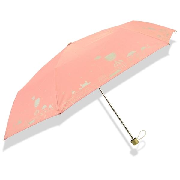 【輕手感】小象樂園-蛋捲傘 /晴雨傘黑膠傘遮光傘自動傘迷你傘防風傘防曬傘遮陽傘洋傘超輕傘