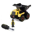美國 STANLEY Jr. 組裝工程車-砂石車|聖誕禮物