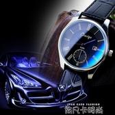時尚手錶男士帶防水男錶品質韓國潮流女士學生超薄機械石英錶 依凡卡時尚