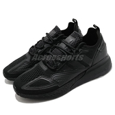 adidas 休閒鞋 ZX 2K Boost 黑 全黑 愛迪達 復古 三葉草 男鞋【ACS】 GY2689
