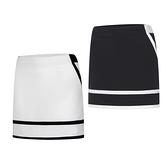 高爾夫裙 高爾夫衣服女裙子白黑高爾夫短裙修身顯瘦A字半身裙golf球裙防走-Ballet朵朵