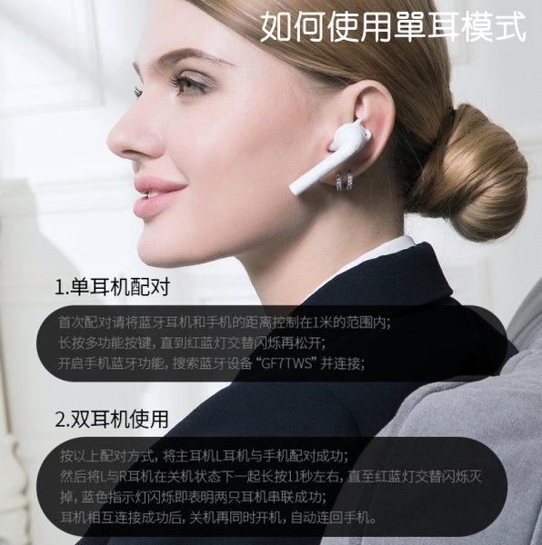 【coni shop】大康DACOM果粉7s藍牙耳機雙耳真無線 蘋果安卓通用 藍芽 商務 耳塞式 i7 Airpods