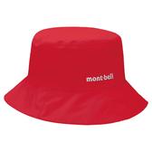 [好也戶外]mont-bell GTX Meadow Hat防水透氣圓盤帽 卡其/罌粟紅 No.1128628-TN/POP