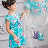 繁夏玫瑰花漾波浪層次小洋裝(250651)★水娃娃時尚童裝★