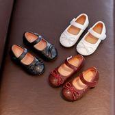 春季韓版女童皮鞋公主鞋豆豆鞋