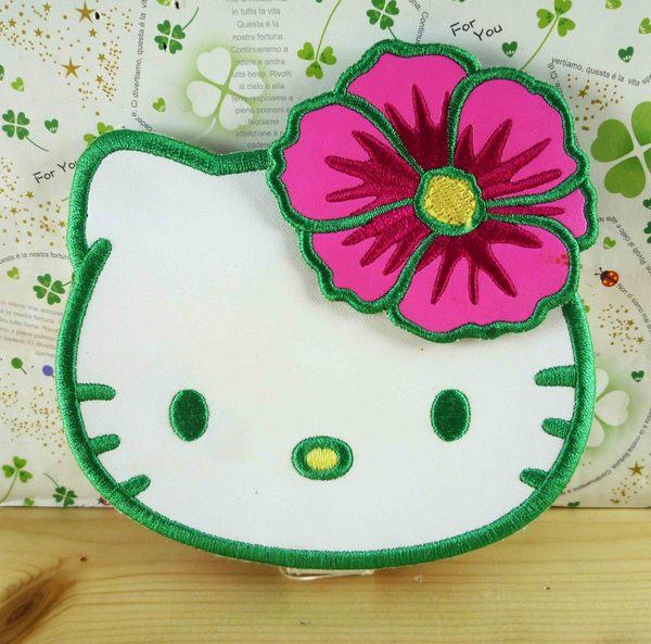 【震撼精品百貨】Hello Kitty 凱蒂貓-摺疊鏡-造型花