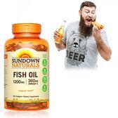 《Sundown日落恩賜》精萃深海魚油1200mg(100粒/瓶)