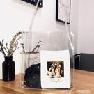 秒殺果凍包ins韓國東大門chic包包簡約百搭透明包PVC手提包側背包沙灘果凍包聖誕交換禮物